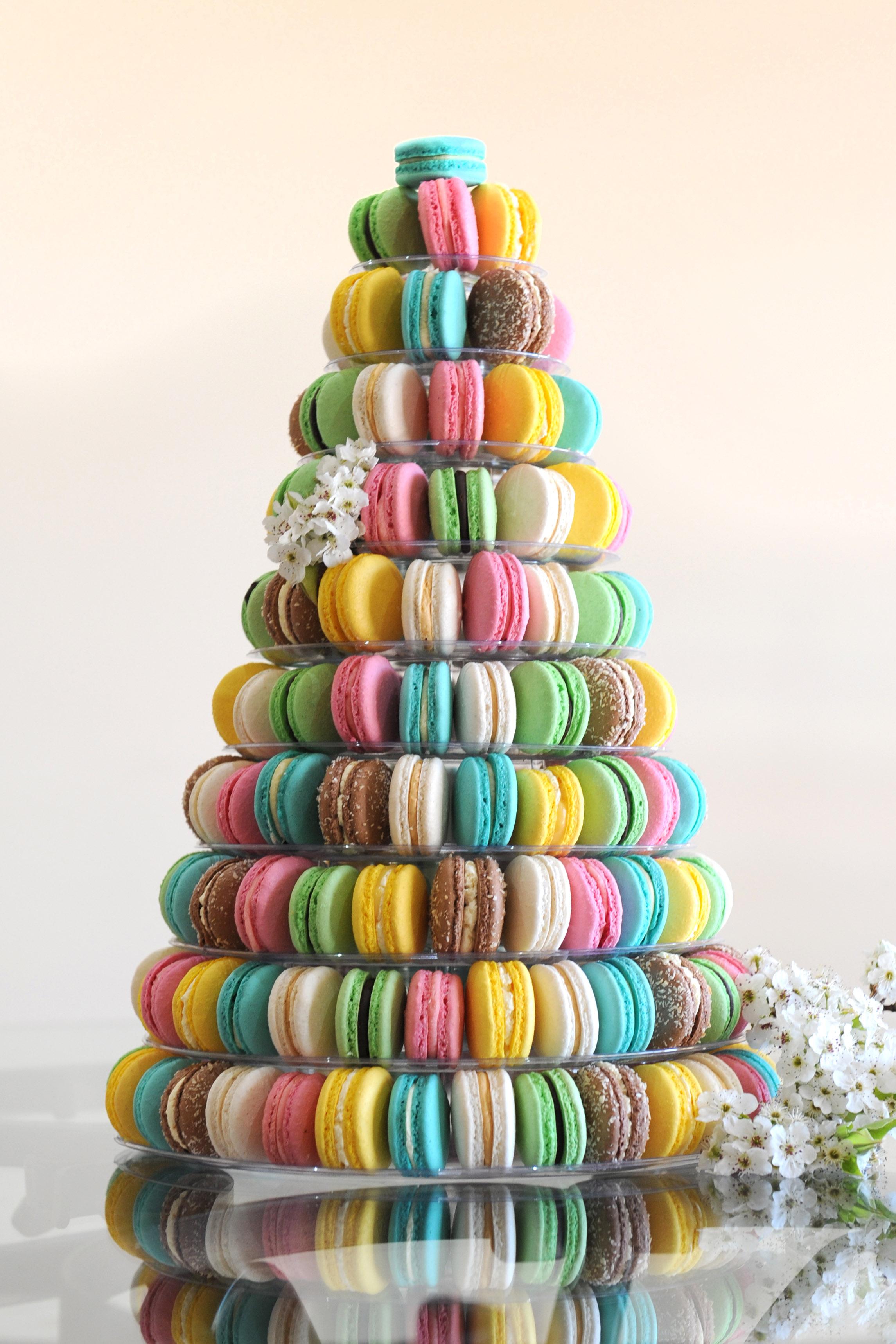 10 Tier Acrylic Round Macaron Tower
